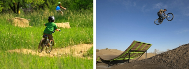 Photo of Valmont Bike Park, courtesy of Alpine Bike Parks LLC